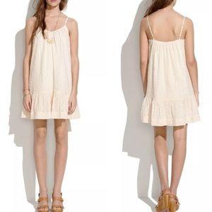 NWT Madewell Daisy Stitch dress L